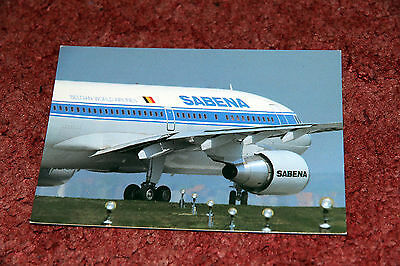 Sabena Airbus A310 Airline Issue Postcard