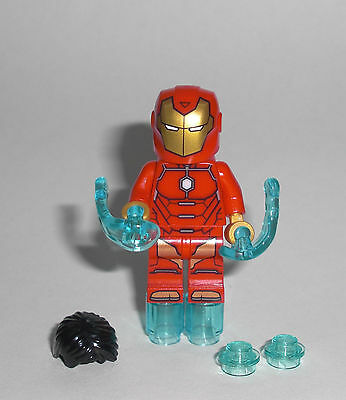 LEGO Super Heroes - Invincible Iron Man - Figur Minifig Ironman Avengers 76077