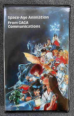 RARE Anime VHS Promo Tape SPACE-AGE ANIMATION From CAGA COMMUNICATIONS