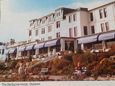 Postcard The Selborne Hotel Dunoon Argyll & Bute