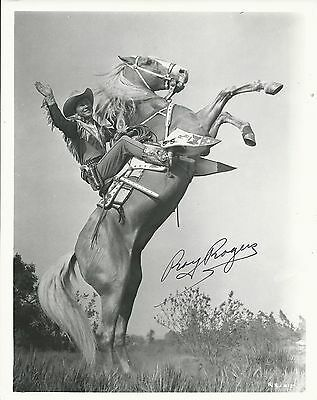 ROY ROGERS Hand Signed 8x10 Autographed Photo With COA