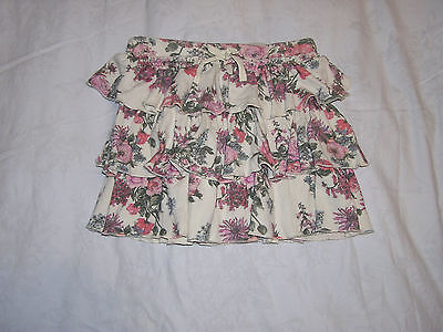 Next Girls Floral Skirt Age 10 Years