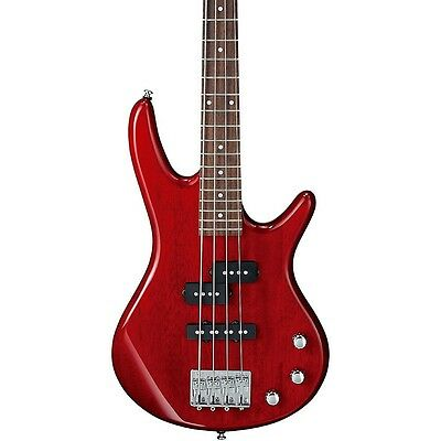 Ibanez GSRM20 Mikro Short-Scale Bass Guitar Transparent Red Rosewood LN