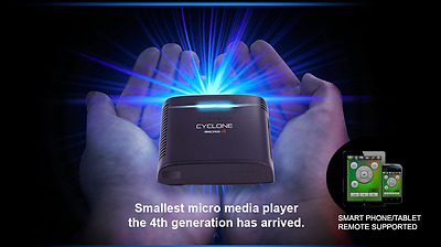 Sumvision Cyclone Micro 4 WiFi Media Player with MiraCast & DLNA *Irish Seller*