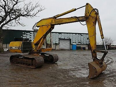 13 ton digger excavator works can deliver no vat