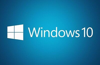 Microsoft Windows 10 Professional Operating System 64-Bit Full Version with Disc