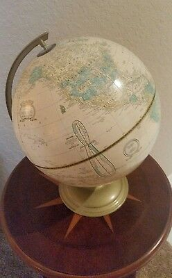 Cram's Imperial World Globe Ivory Color. LOOKS GREAT!