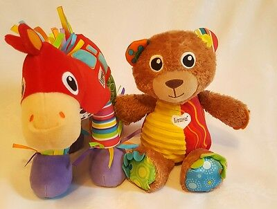 Tomy Lamaze Trotter Horse (Pony) with Sounds  (Battery Operated) & Baby Soft Toy