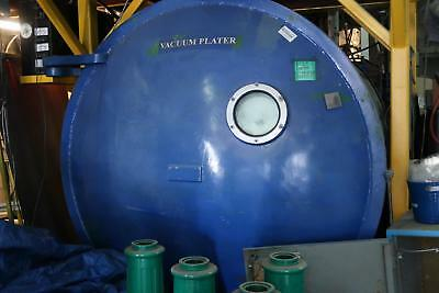 6 ft Stokes Vacuum Chamber with 2 main carousels