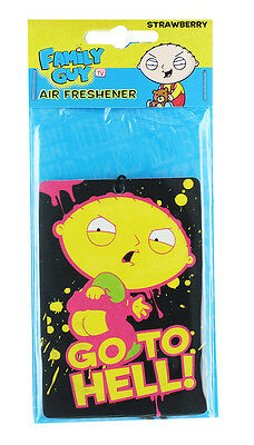 """Family Guy Stewie """"Go To Hell"""" Air Freshener"""