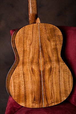 Classical Guitar Custom Diy Kit  All Solid Wood Spruce Top+Mahogany Body