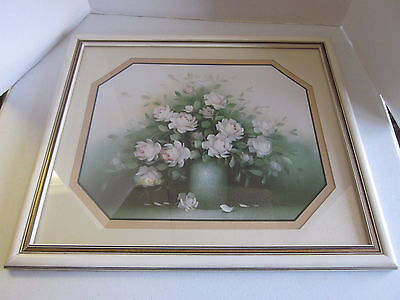 Vintage Home Interiors Roses in a Vase Picture
