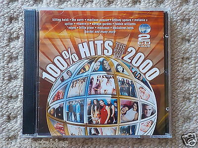100% Hits - The Best Of 2000 - 2CD COMPILATION [USED - VGC]