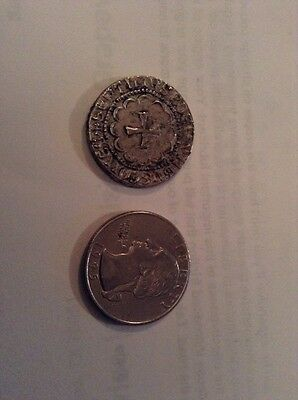 County Of Tripoli..( Not Real ) Silver Gros (1275-87).....coin