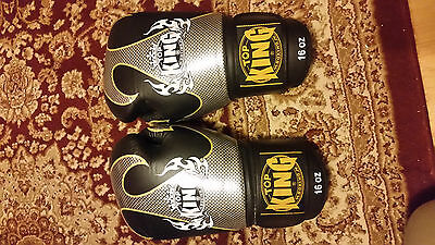 Top King Muay Thai Shin pads and 160z gloves