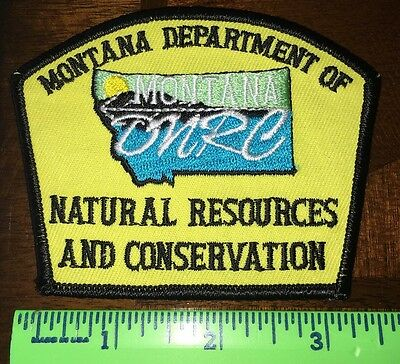 Rare Montana Department Of Natural Resources And Conservation Yellow Patch