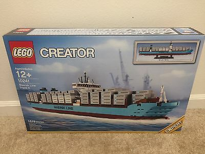 LEGO 10241 Creator Maersk Line Triple-E Container Ship New in Sealed Box NISB