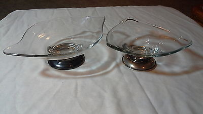 webster sterling silver candy dishes scrap or use