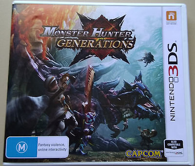 Monster Hunter: Generations (Nintendo 3DS, 2016)