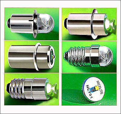 Nicelite Led Ampoules Vélo Bicyclette Lampe Torche Maglite Frontale Cree