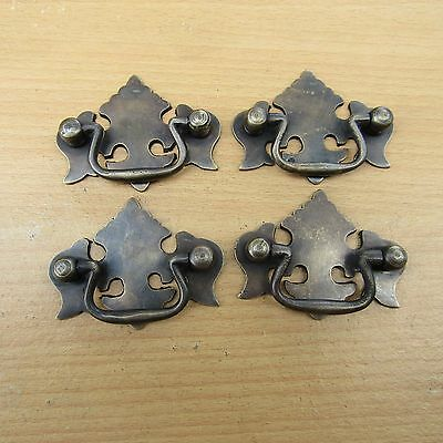 Lot of 4pcs Vintage Classic Crown Dresser Pull,Antique Brass Drawer Handle KN14A