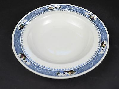 """ANTIQUE MINTON Hand Painted Bowl Plate 9"""" Ship 609852 VERY OLD"""