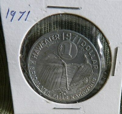 1971 Haweater Dollar - Good only on Manitoulin Island, Ontario Canada