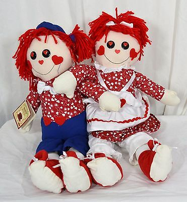 """18"""" Rag Doll Duet - Chantilly Lane """"Duets"""" Musicals-I Got You Babe by Sonny Bono"""