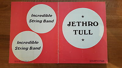 Rare 1970 Programme Jethro Tull The Who Free The Nice Incredible String Band