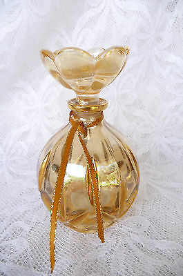 Vintage & Collectible Pineapple Cut Crystal Perfume Bottle