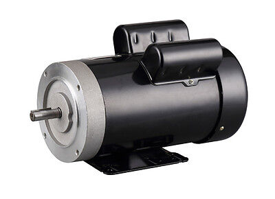 """1.5HP Electric Motor, 5/8"""" Shaft General Purpose,1 Phase, 115/230V, 56C, 3450RPM"""