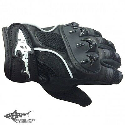 Brand New With Tags~ Motor Bike Gloves~ Ventilator 3 Mesh~ Large~ Shark Leathers