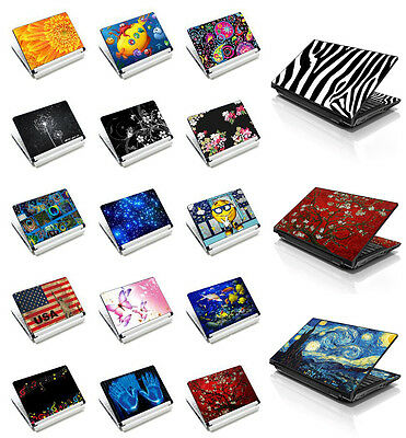"Laptop Sticker Skin Cover Art Decal For 13"" 14"" 15"" 15.6"" Sony HP Dell Acer PC"