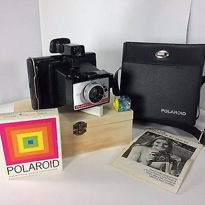 Polaroid Colorpack 80 Land Camera Instant Case Manual Film Expired Tested Works