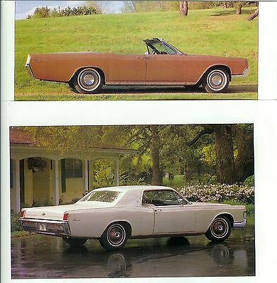 1966 1967 1968 1969 LINCOLN CONTINENTAL Color 13 page Article
