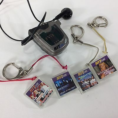 Hit Clips Player with 4 Cartridges N Sync Britney Backstreet Boys Dream Street T