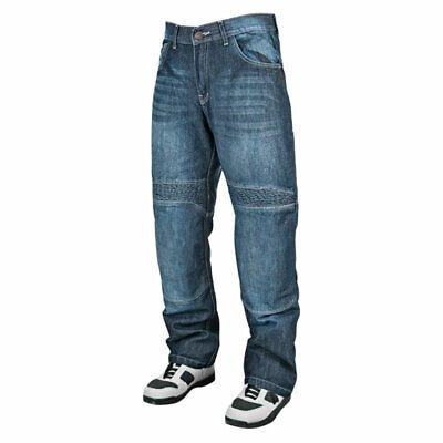 Speed & Strength Mens Blue Rage w/ the Machine Armored Denim Motorcycle Jeans