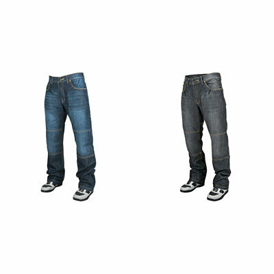 Speed & Strength Mens Run With The Bulls Boot Cut Armored Denim Motorcycle Jeans