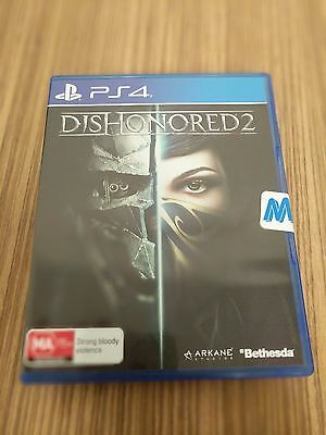 Dishonored 2 PS4 - Brand New