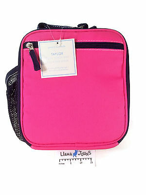 Pottery Barn Kids Lunch Taylor Collection Pink NWT