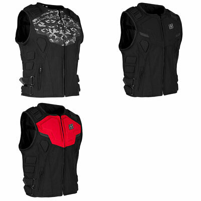 Speed & Strength Mens Critical Mass Fitted Motorcycle Vest - Choose Size & Color