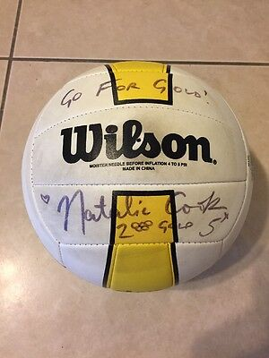 Natalie Cook Signed Volleyball
