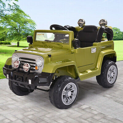 12V Kids Ride On Truck Off-Road Battery Powered Electric Car with Remote Control