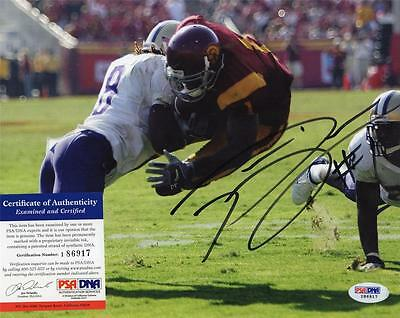 Patrick Turner Signed Autographed 8X10 Photo Psa Usc Trojans College Football