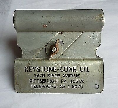 Vintage Advertising, Keystone Ice Cream Cone Co., Box Cutter, Kutto Jr. #3