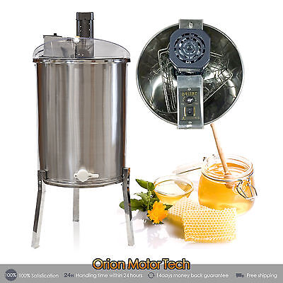 3 Frame Stainless Steel SS Honey Extractor 110V Electric  Beekeeping Equipment
