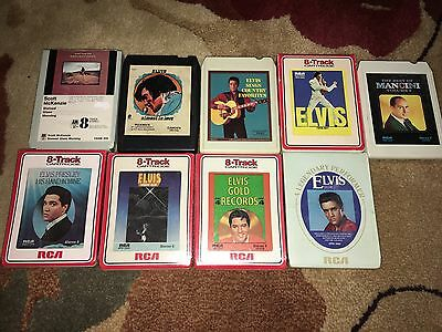 8 Track Elvis Presley And More, 4 Sealed Tapes