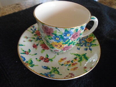 Royal Winton Queen Anne Demitasse Cup and Saucer