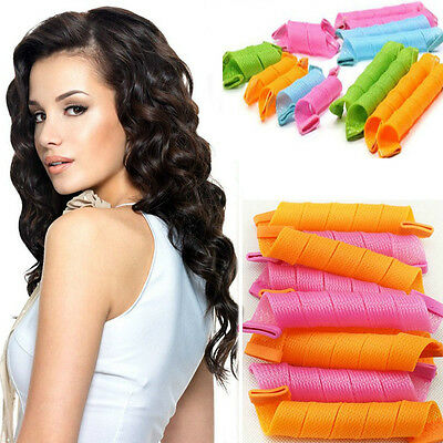18pcs Hair Rollers Snail Rolls Styling Curler Tools Magic Hair Circle Fast New