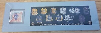 Los Angeles Kings Nhl Marcel Dionne Canada Post Stamp Jersey Design Picture